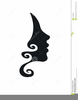Face Side Profile Clipart Image