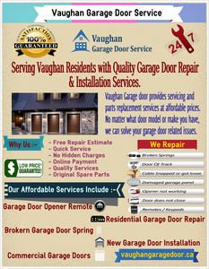 Vaughan Garage Door Service Image