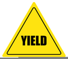 Free Clipart Yield Sign Image