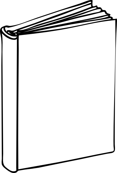 blank book template for kids blank book clip art at vector clip art online