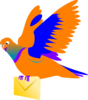 Email Message Bird Clip Art