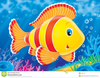 Coral Reef Fish Clipart Image