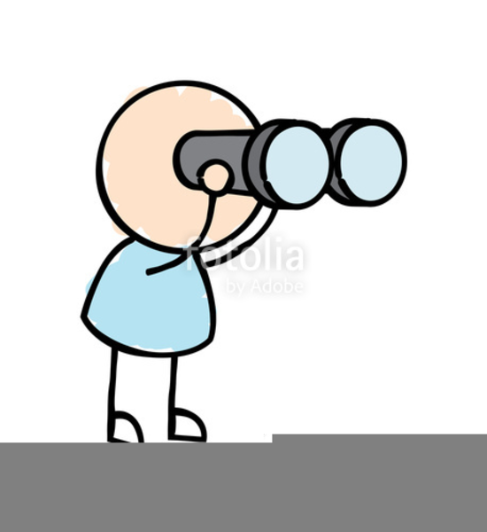 Man With Binoculars Clipart Free Free Images At Clker Com Vector Clip Art Online Royalty Free Public Domain