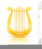 Free Lyre Clipart Image