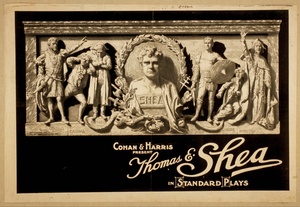 Cohan & Harris Present Thomas E. Shea In Standard Plays Image
