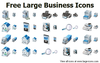 Free Large Business Icons Image
