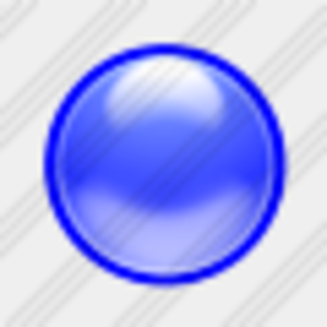 Icon Blue Ball Image