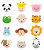 Free Cute Jungle Animal Clipart Image