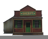 Old West Jail Clipart Image