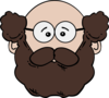 Bearded Man Clip Art