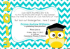 Preschool Graduation Invitation Image