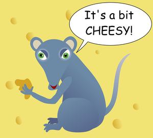 Cheesy Mouse Image