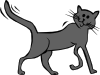 Cartoon Cat 3 Clip Art