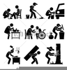 Odd Jobs Clipart Image
