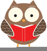 Owl Book Clipart Free Image