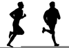 Cross Country Runners Clipart Image