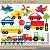 Clipart Trucks Cars Image