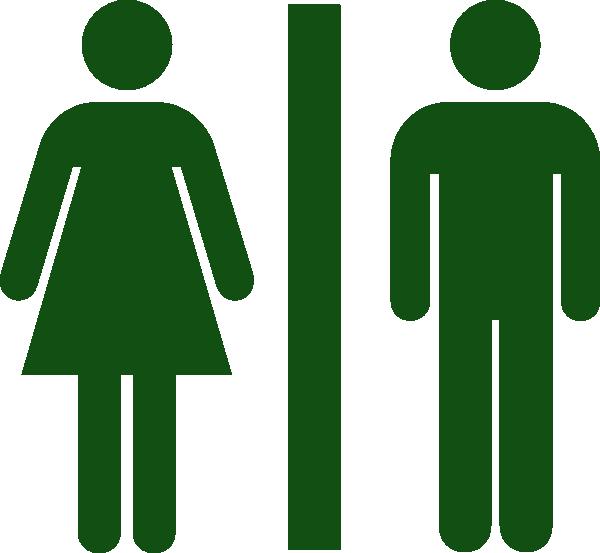 Menwomen Toilet Restroom Green Clip Art At Clker Com Vector Clip Art Online Royalty Free
