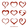 Free Abstract Heart Clipart Image