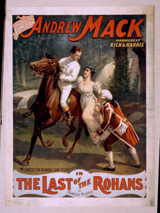 The Singing Comedian, Andrew Mack In The The Last Of The Rohans By Ramsay Morris. Image