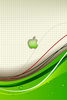 Apple Logo Green F Image