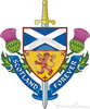 Scottish Flags Clipart Image