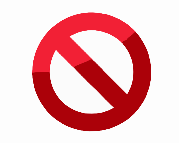 Do Not Symbol Clip Art At Clker Vector Clip Art Online