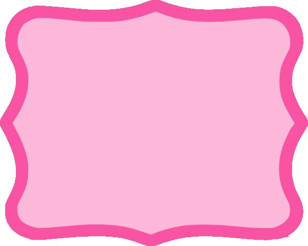Hot Pink Frame Clip Art at Clker.com - vector clip art online ...