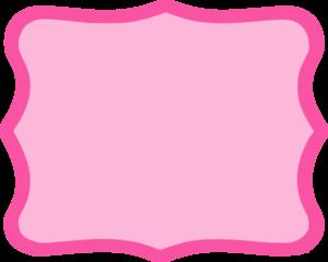Hot Pink Frame Clip Art At Clker Com Vector Clip Art Online