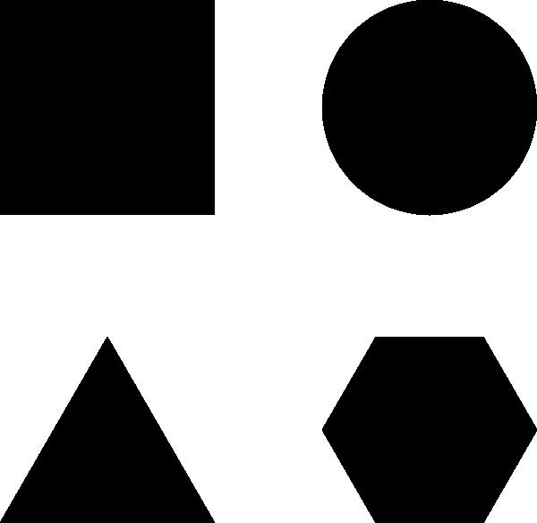 Black And White Geometric Shapes | www.pixshark.com ...