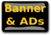 Banner And Ads Button Clip Art