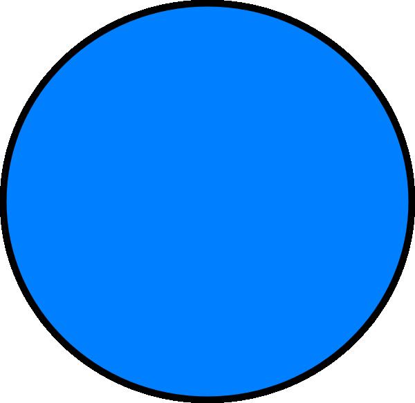 blue circle clip art - photo #2