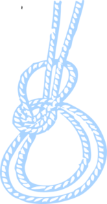 Blue Rope Clip Art