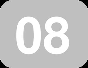 08 >> Numbers 08 Clip Art At Clker Com Vector Clip Art Online Royalty