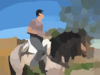 Horseback Riding Clip Art