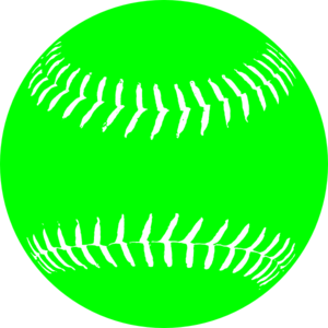 Greensoftball3 Clip Art