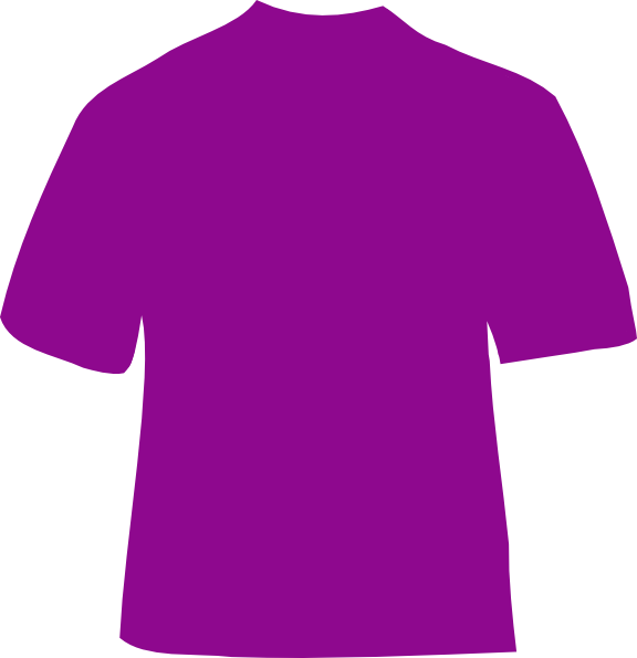 purple t shirt clip art - photo #3