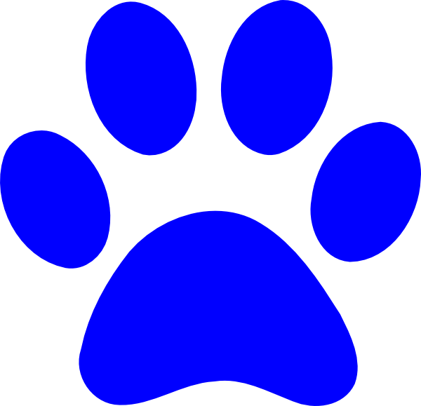 Panther Paw Clip Art at Clker.com - vector clip art online, royalty ...