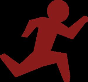 running man race red clip art at clker com vector clip art rh clker com racing clip art download free race clipart