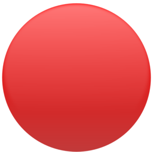Round Red Button Clip Art
