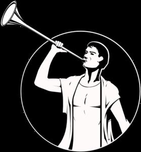 angel moroni clip art at clker com vector clip art online royalty rh clker com Christmas Angels with Trumpet Angel with Trumpet Vector