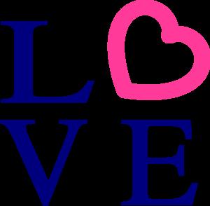 Love Logo Clip ... K M Love Logo