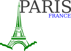 Paris France Logo Clip Art
