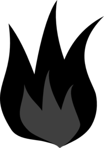 Dark Fire Clip Art