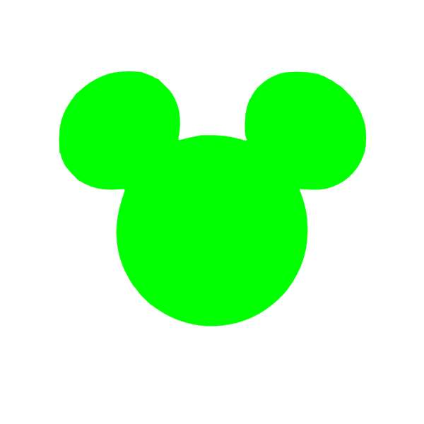 green mickey head clip art at clker com vector clip art Polar Bear Cartoon Clip Art teddy bear cartoons clip art