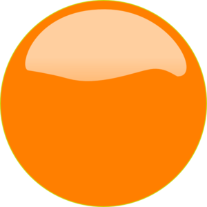 Orange Button 2 Clip Art