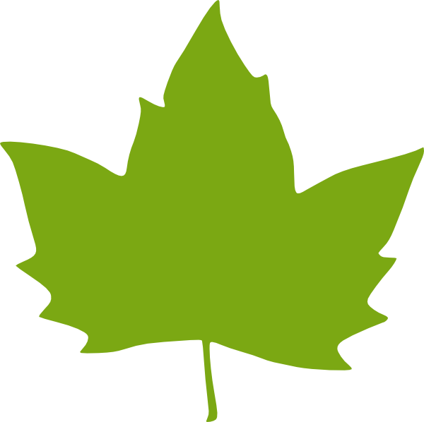 free clipart green leaf - photo #19