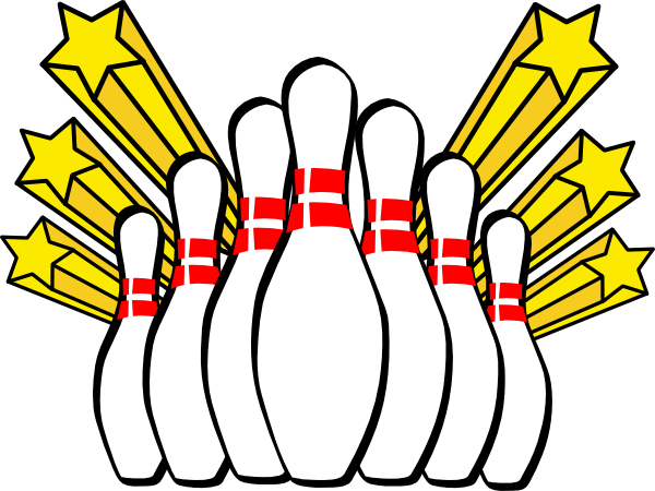 bowling pins clip art at clker com vector clip art online royalty rh clker com lawn bowling clipart images bowling clipart pictures
