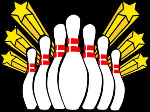 bowling pins clip art at clker com vector clip art online royalty rh clker com bowling clipart background bowling clipart background