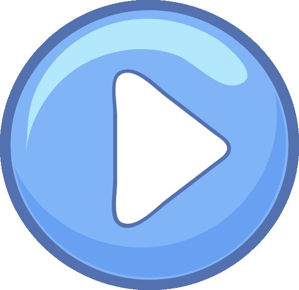 blue play button clip art